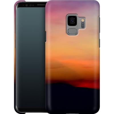 Samsung Galaxy S9 Smartphone Huelle - Sunset von Joy StClaire