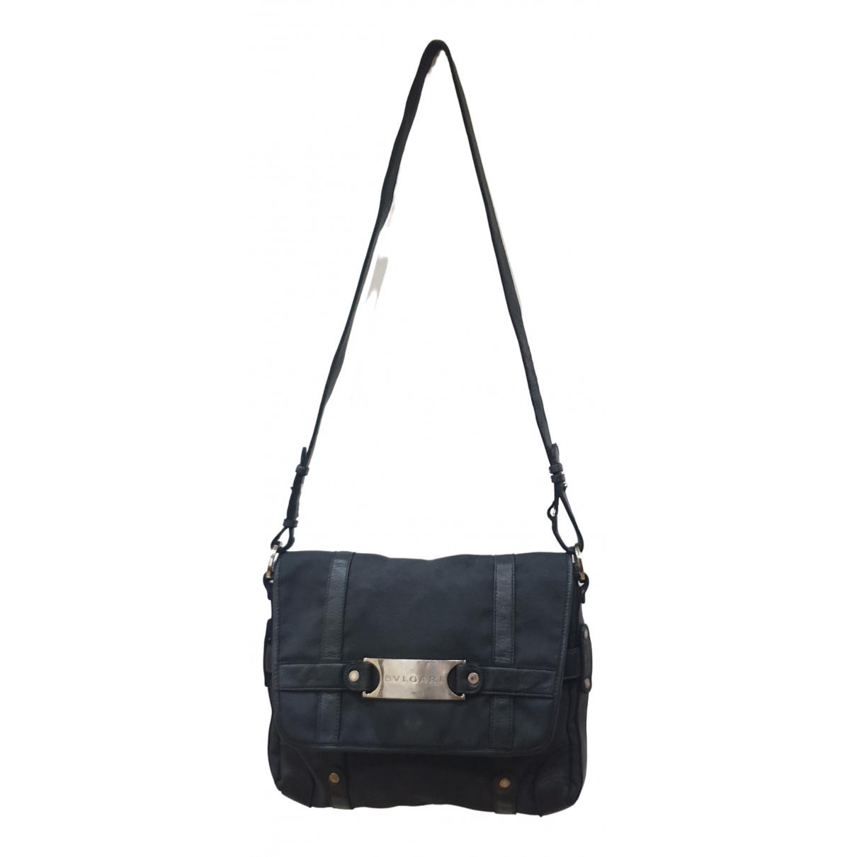 Bvlgari N Black Cloth handbag for Women N