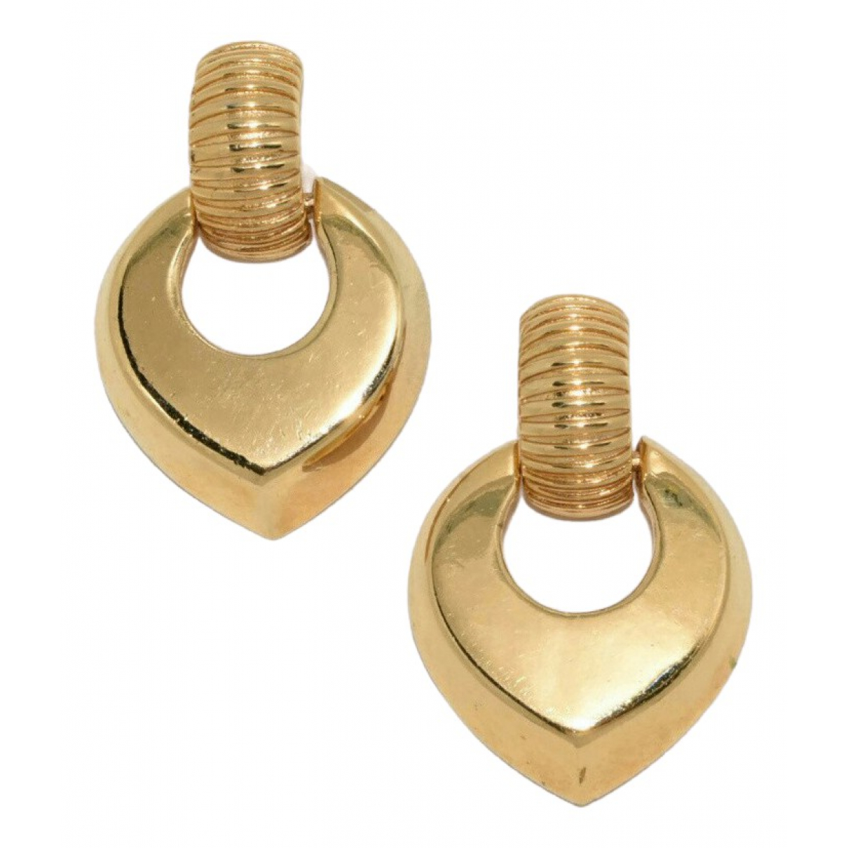 Givenchy N Gold Gold plated Earrings for Women N