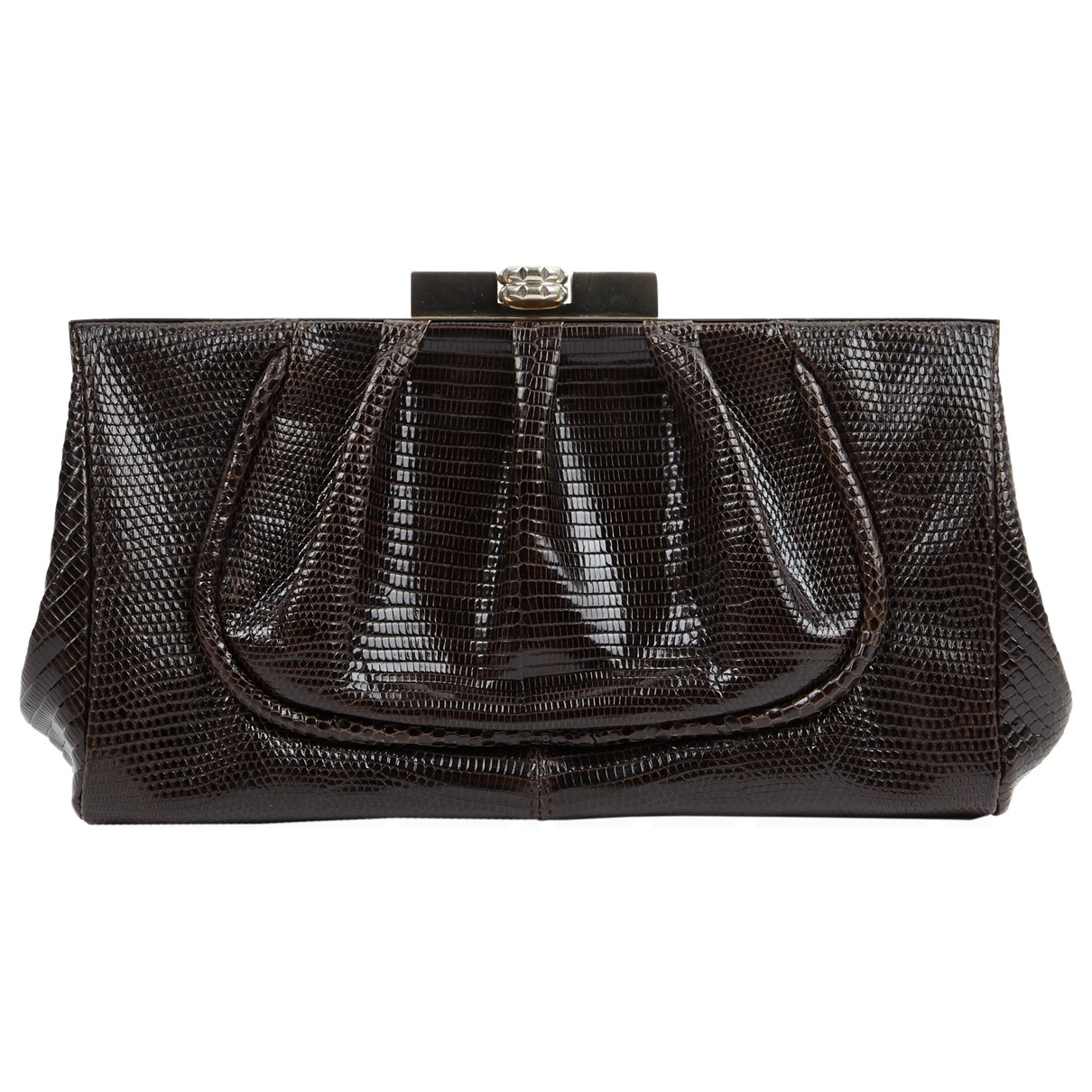Chloé \N Brown Leather Clutch bag for Women \N