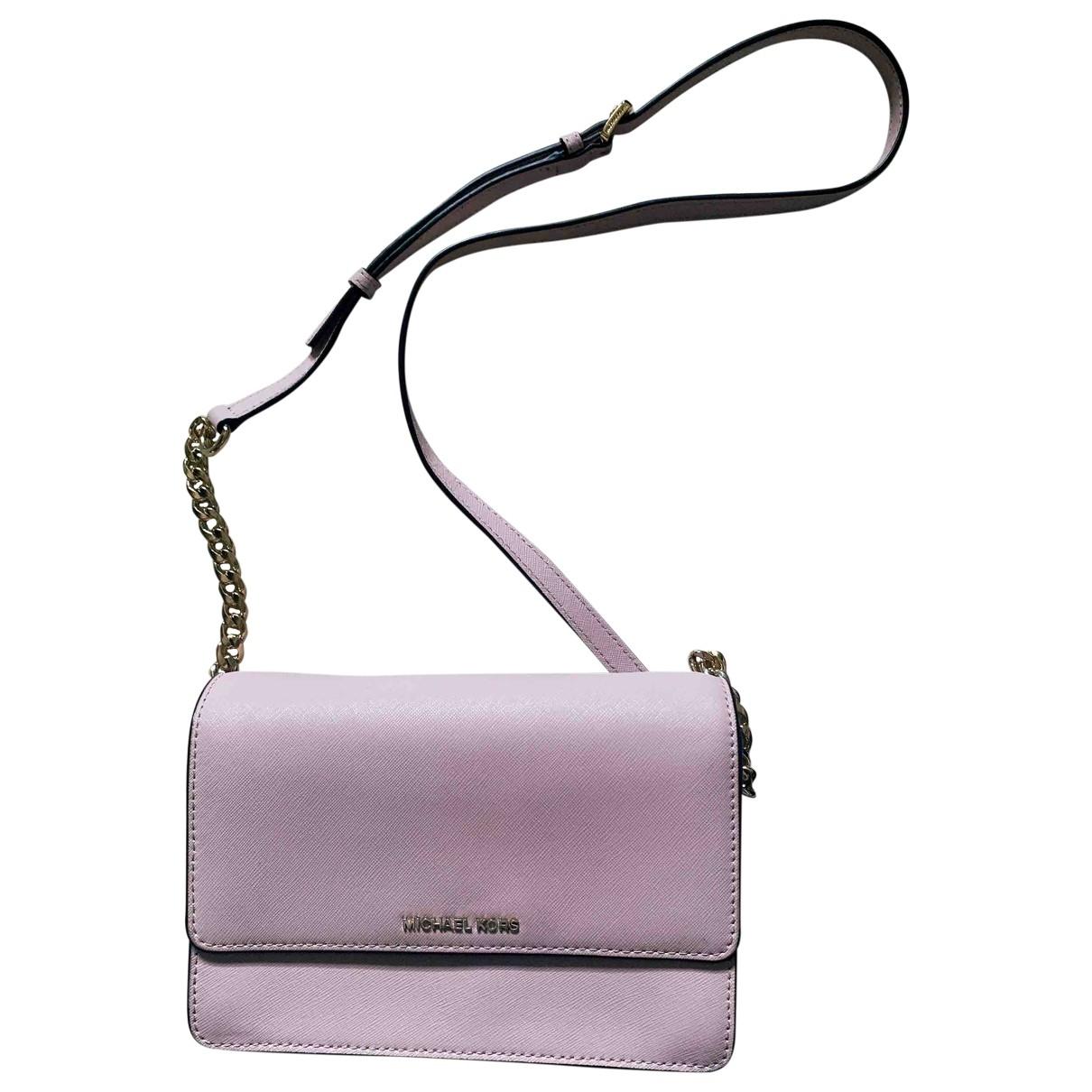 Michael Kors \N Pink Leather Clutch bag for Women \N