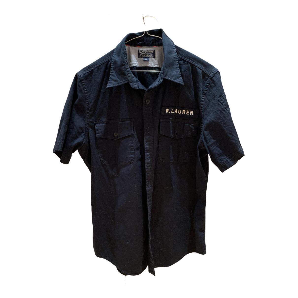 Polo Ralph Lauren N Navy Cotton Shirts for Men M International