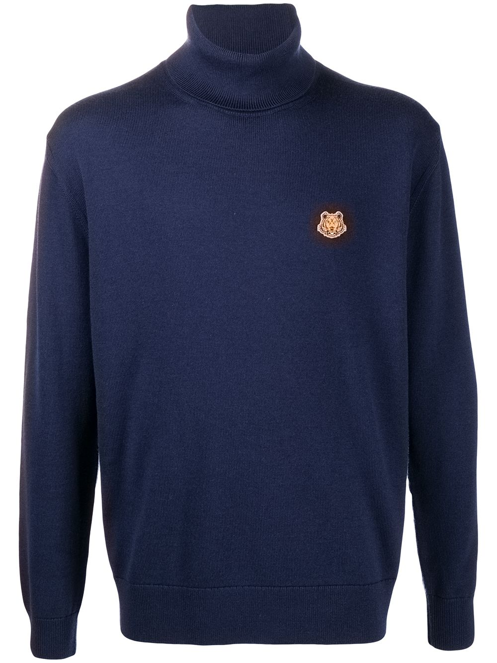 Wool Tiger Patch Jumper