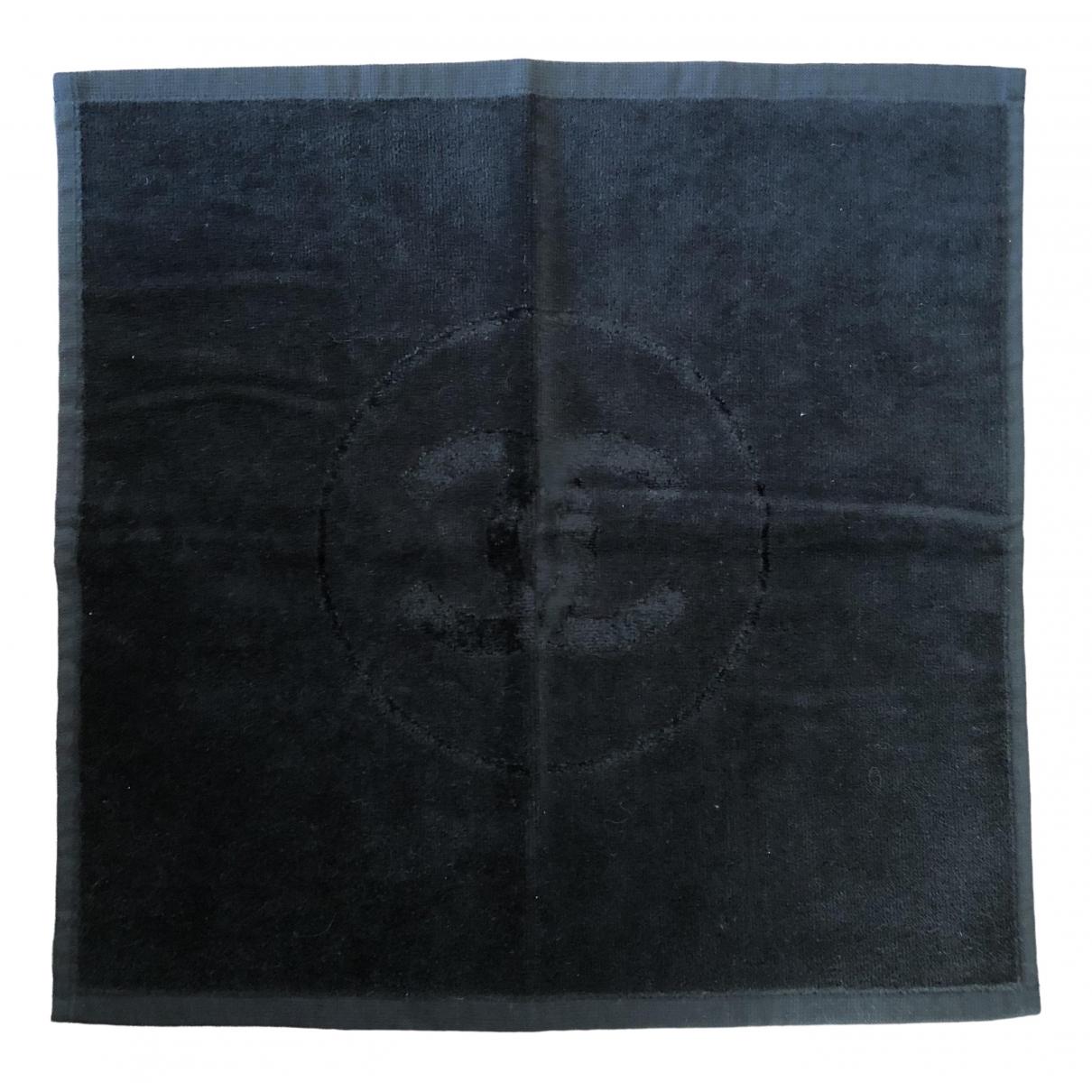 Chanel - Linge de maison   pour lifestyle en eponge - noir
