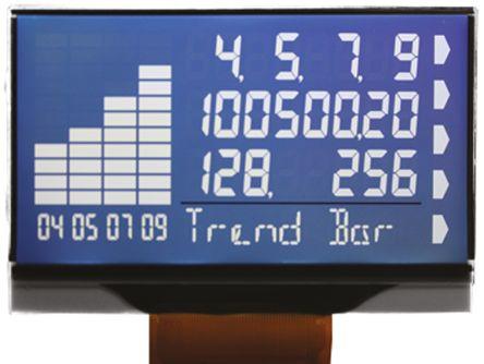 GPEG KS008A4B Alphanumeric LCD Display White, 4 Rows by 18 Characters, Transflective