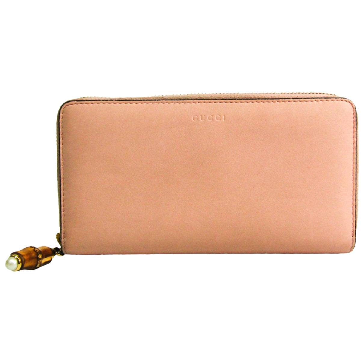Gucci \N Pink Leather wallet for Women \N