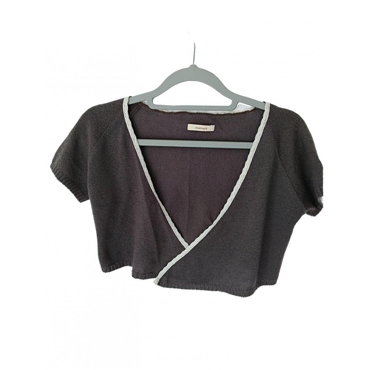 Momoni \N Pullover in  Braun Kaschmir