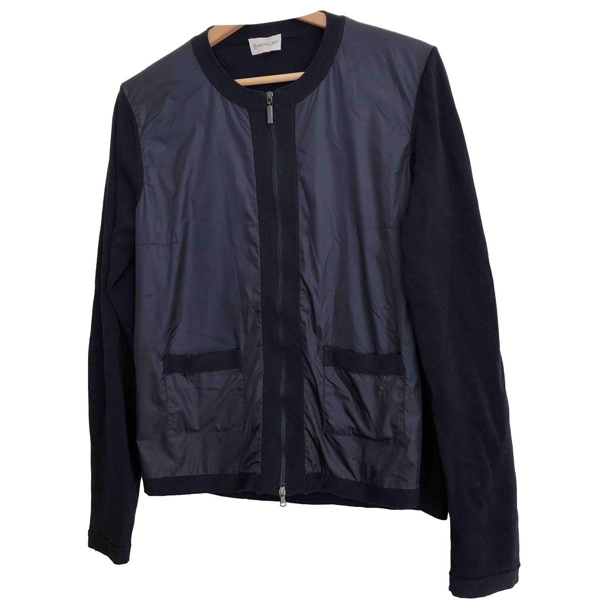 Moncler \N Blue Cotton jacket for Women M International