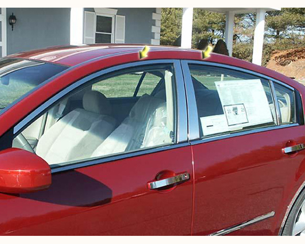 Quality Automotive Accessories 4-Piece Window Package without Pillars Nissan Maxima 2006