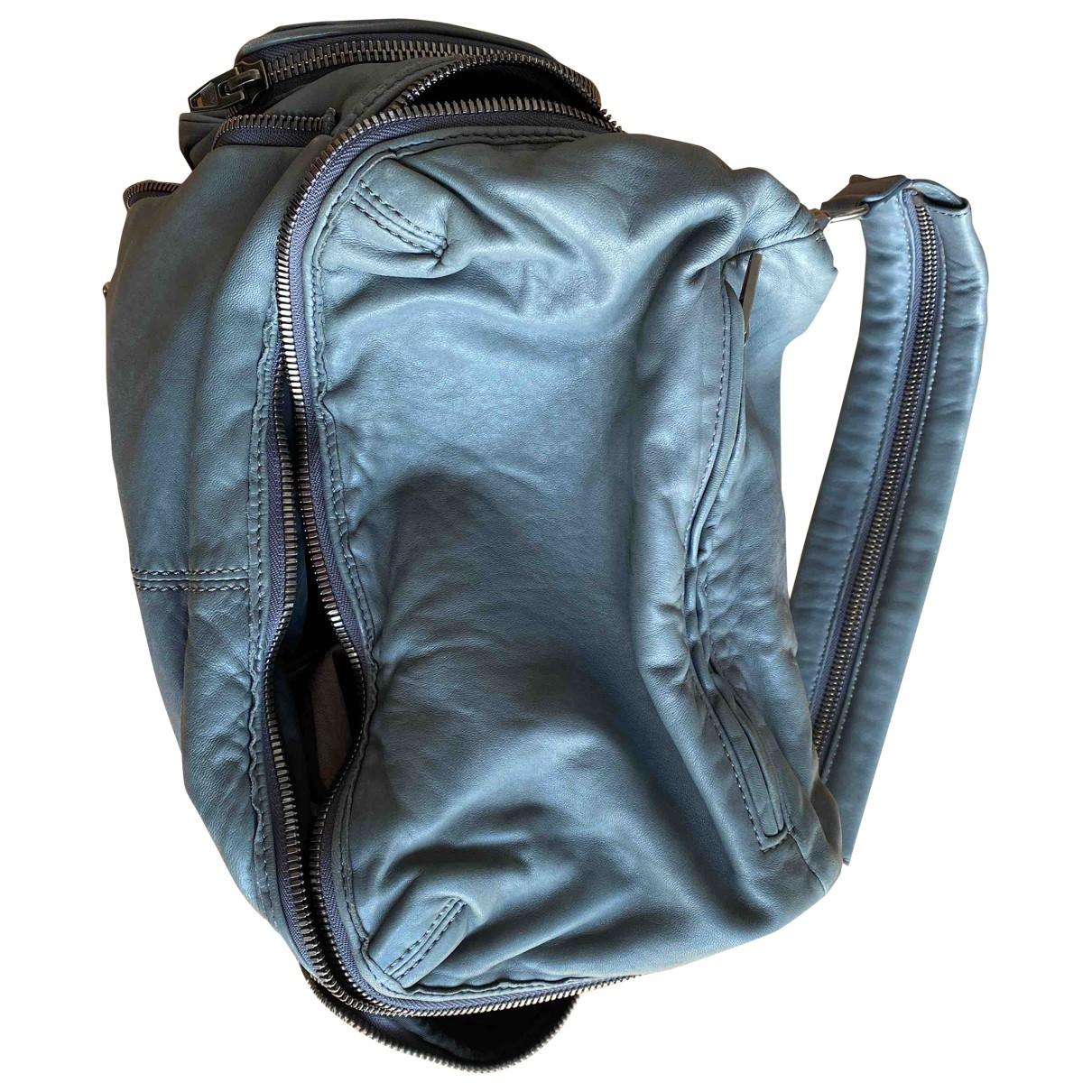 Alexander Wang \N Handtasche in  Anthrazit Leder