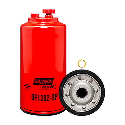 Baldwin BF1382-SP - Fuel/Water Separator Spin On With Drain And Sen...