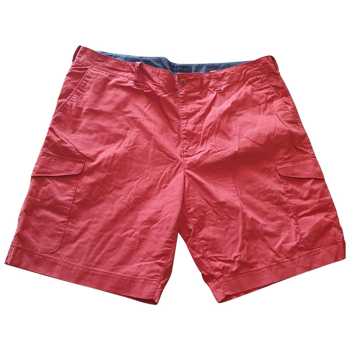 Tommy Hilfiger - Short   pour homme en coton - orange