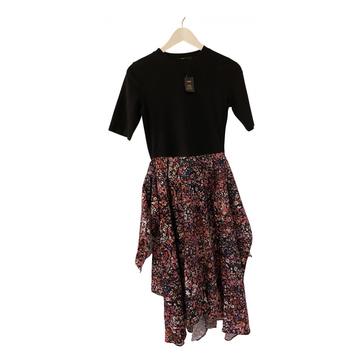 Maje Spring Summer 2020 Kleid in  Bunt Polyester