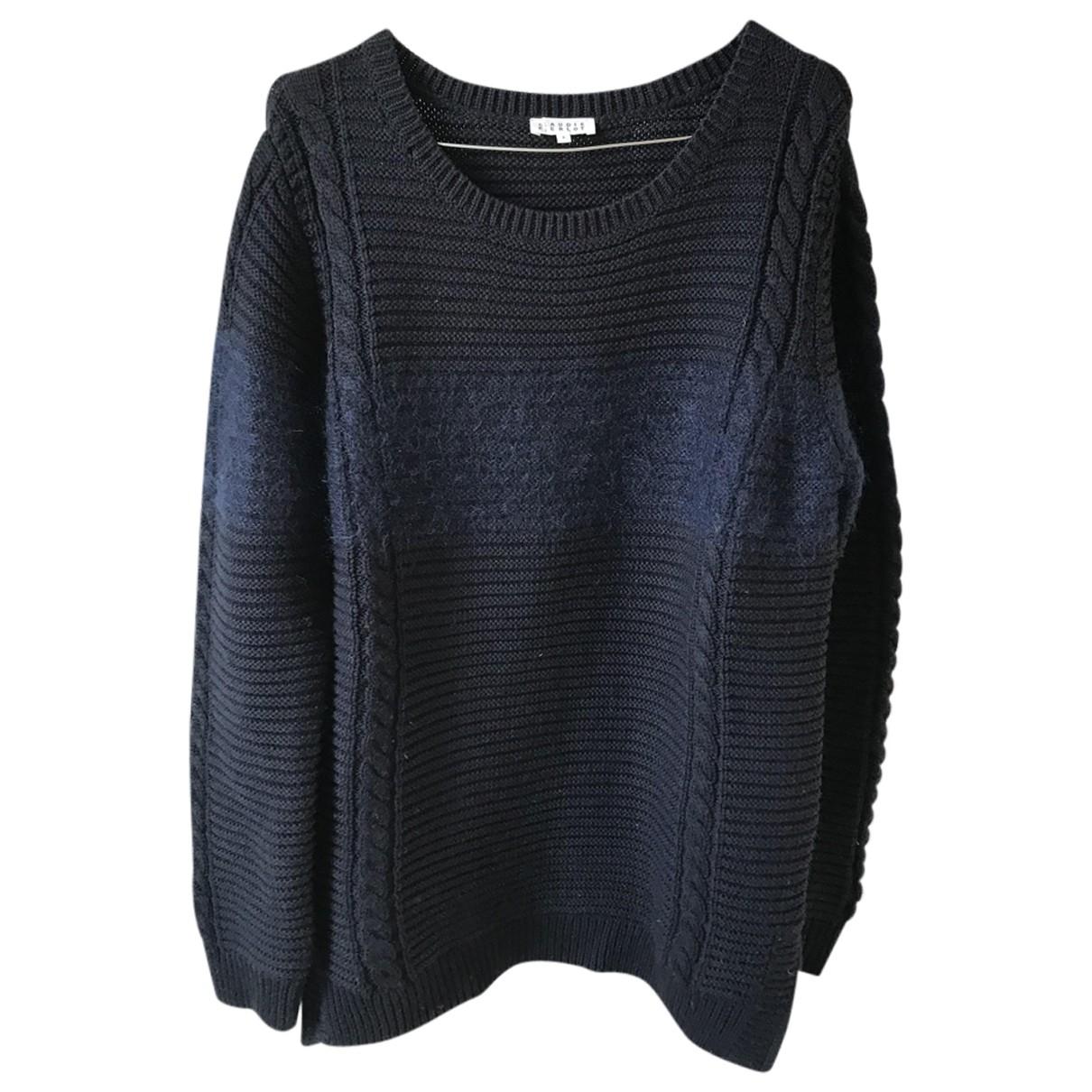 Claudie Pierlot \N Navy Wool Knitwear for Women 2 0-5