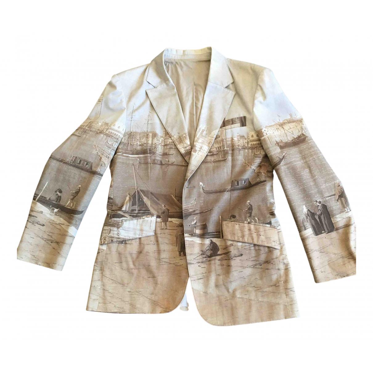 Hamnett London - Vestes.Blousons   pour homme en coton - beige