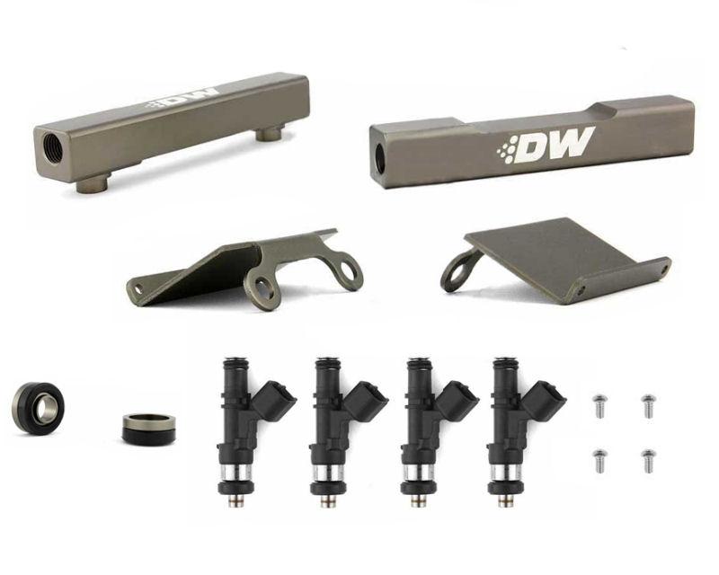 Deatschwerks 6-102-1200 Top Feed Fuel Rail Upgrade Kitwith 1200cc Injectors Subaru Legacy GT 07-15