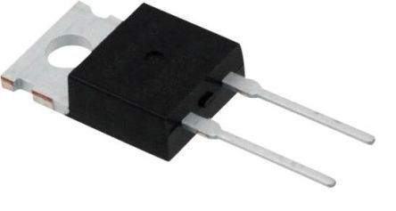 Vishay 600V 8A, Silicon Junction Diode, 2-Pin TO-220AC FES8JT-E3/45 (5)