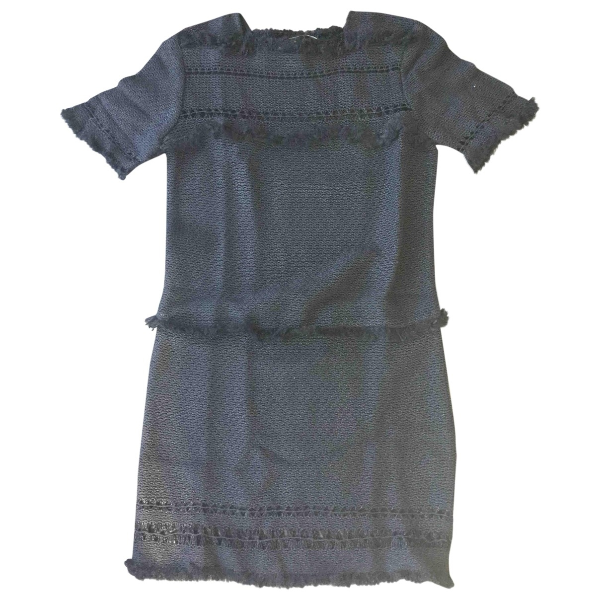 Isabel Marant \N Black Cotton - elasthane dress for Women 34 FR