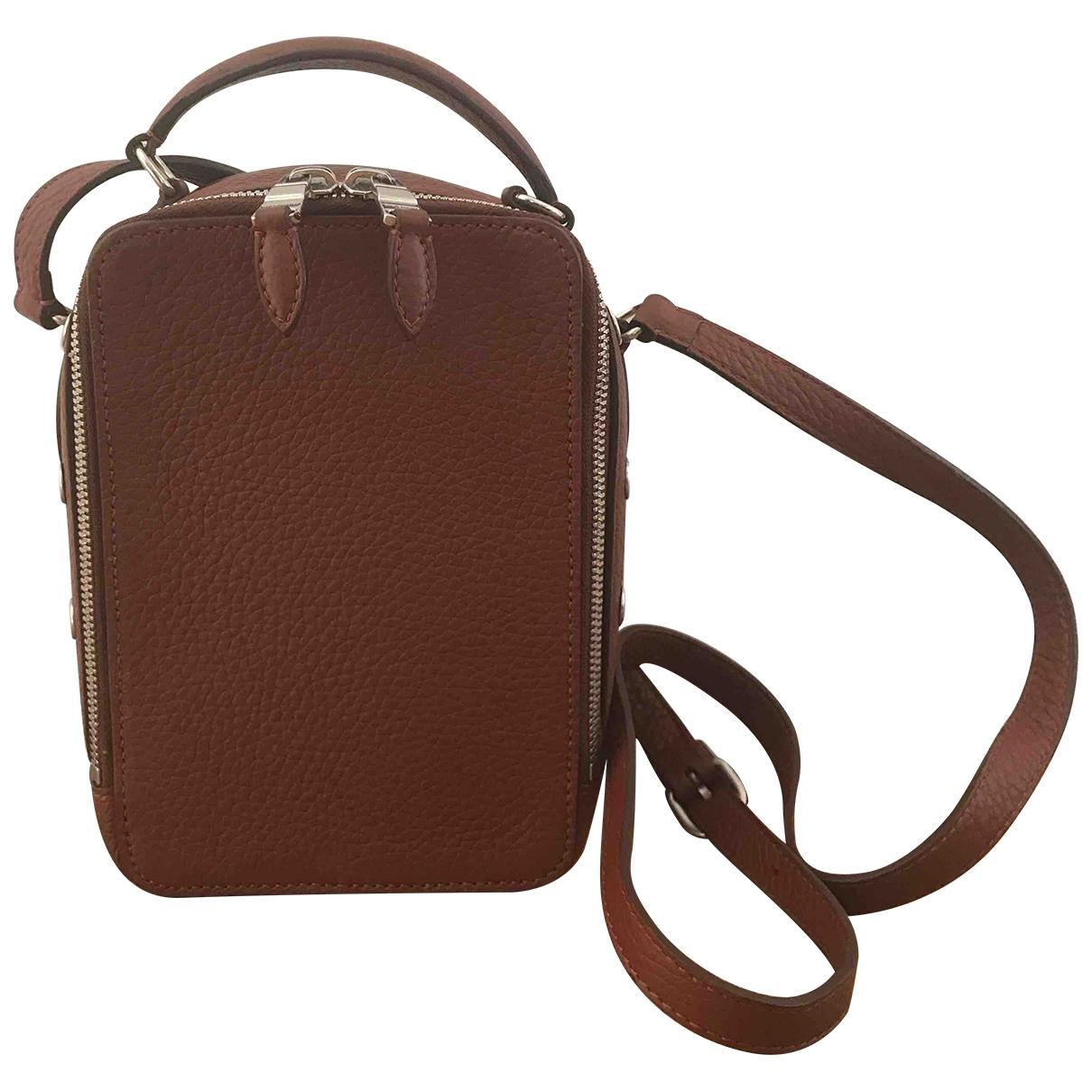 Sonia Rykiel Pavé Brown Leather handbag for Women \N