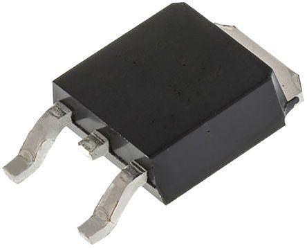 ROHM 60V 10A, Dual Schottky Diode, 3 + Tab-Pin DPAK RB085BM-60TL (10)