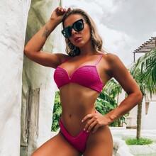 Bikini Badeanzug mit Tanga
