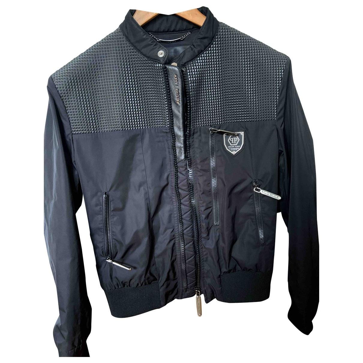 Philipp Plein \N Black jacket  for Men 36 UK - US