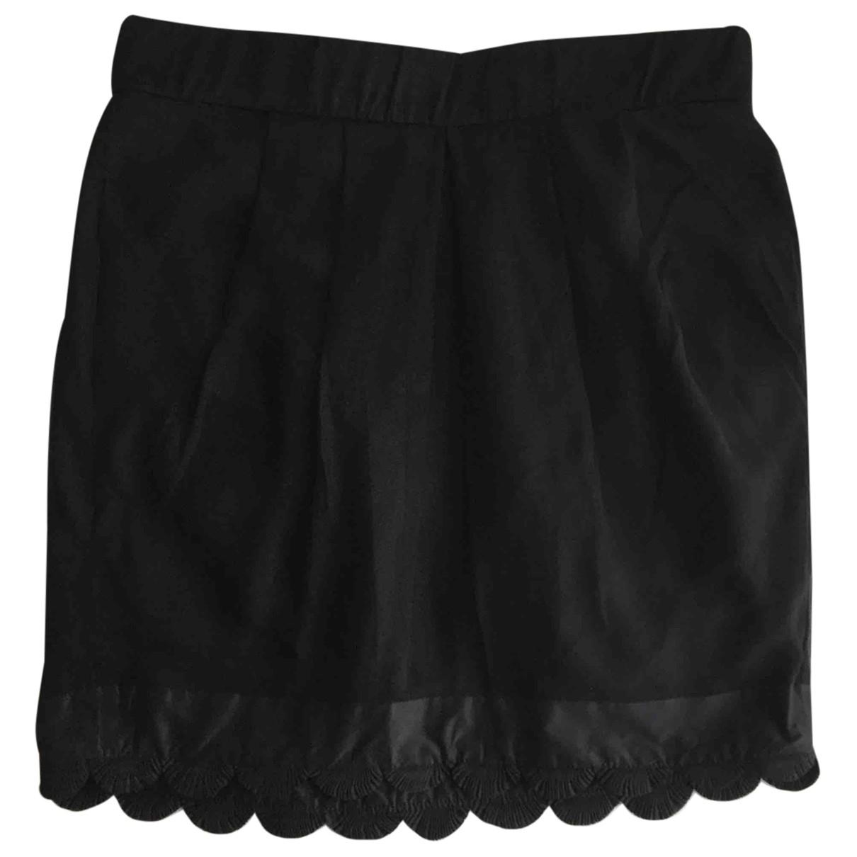 Chloé \N Black Silk skirt for Women 38 FR