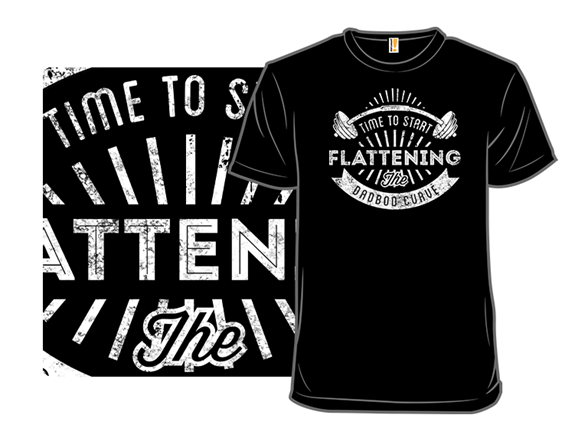 Flattening The Curve T Shirt