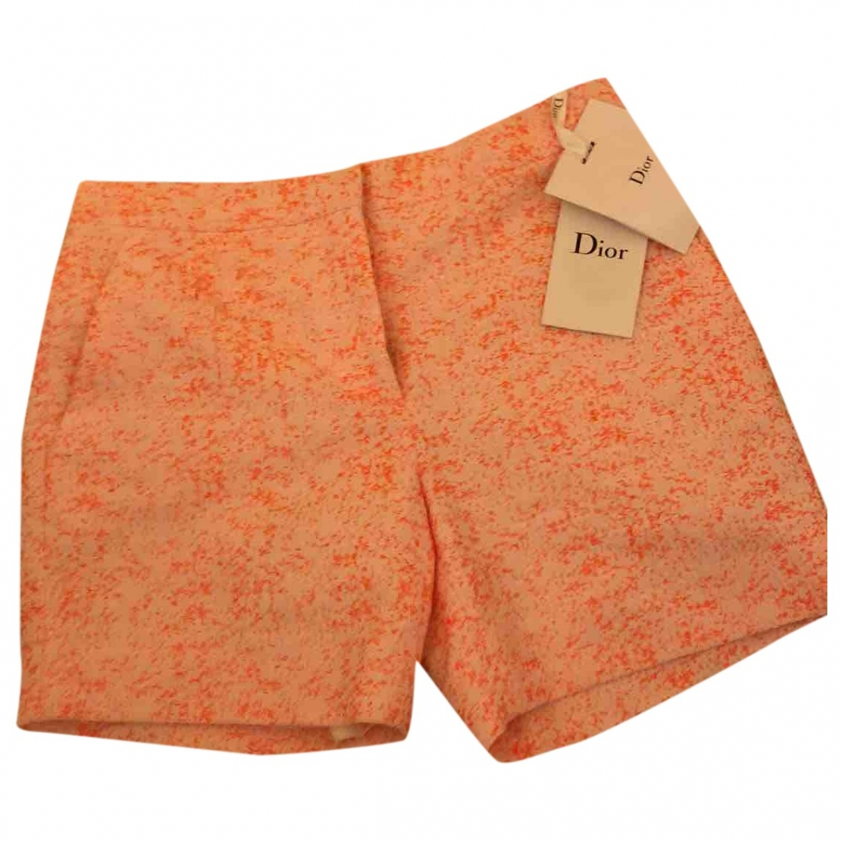 Dior \N Cotton Shorts for Women 36 FR
