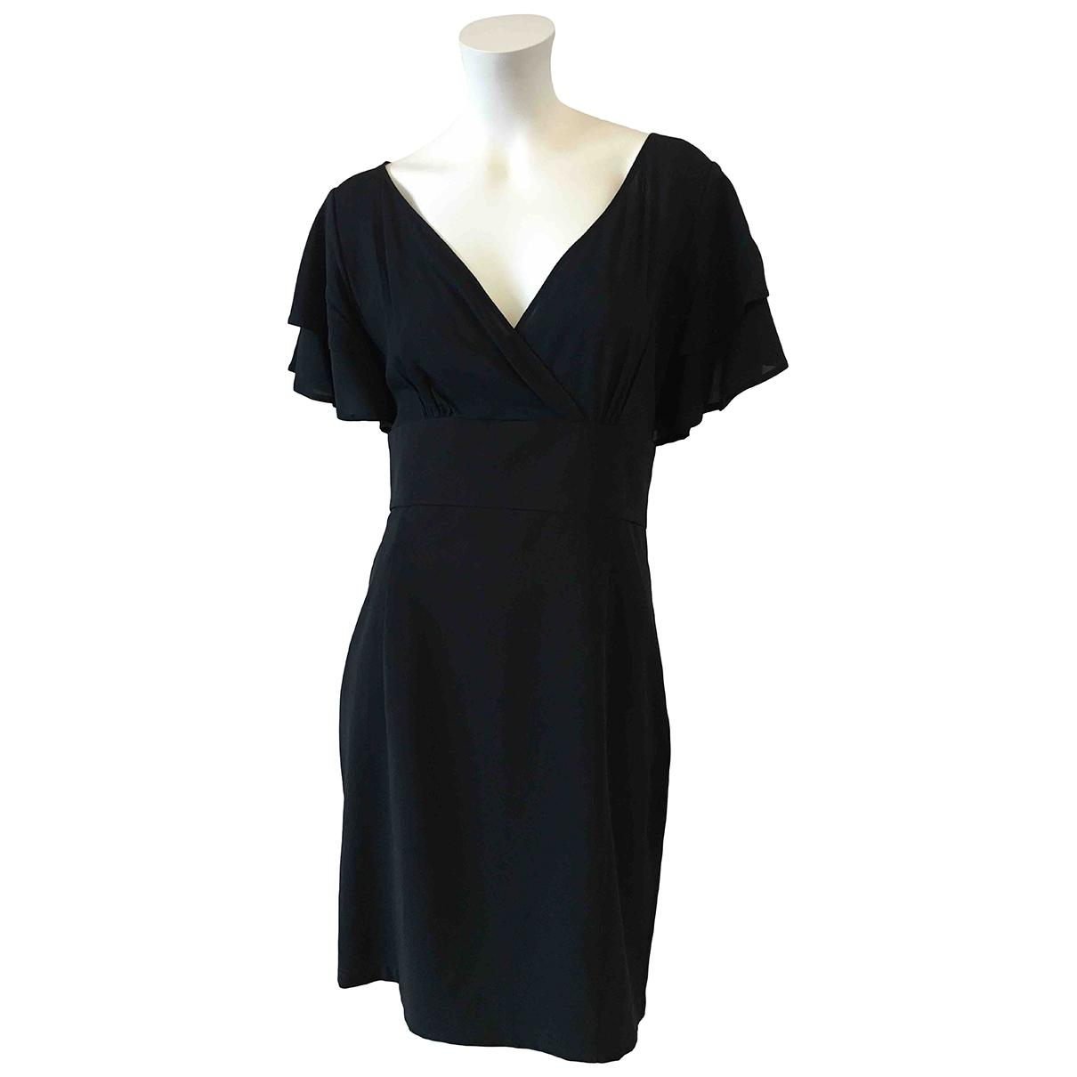 Moschino Love \N Kleid in  Schwarz Polyester