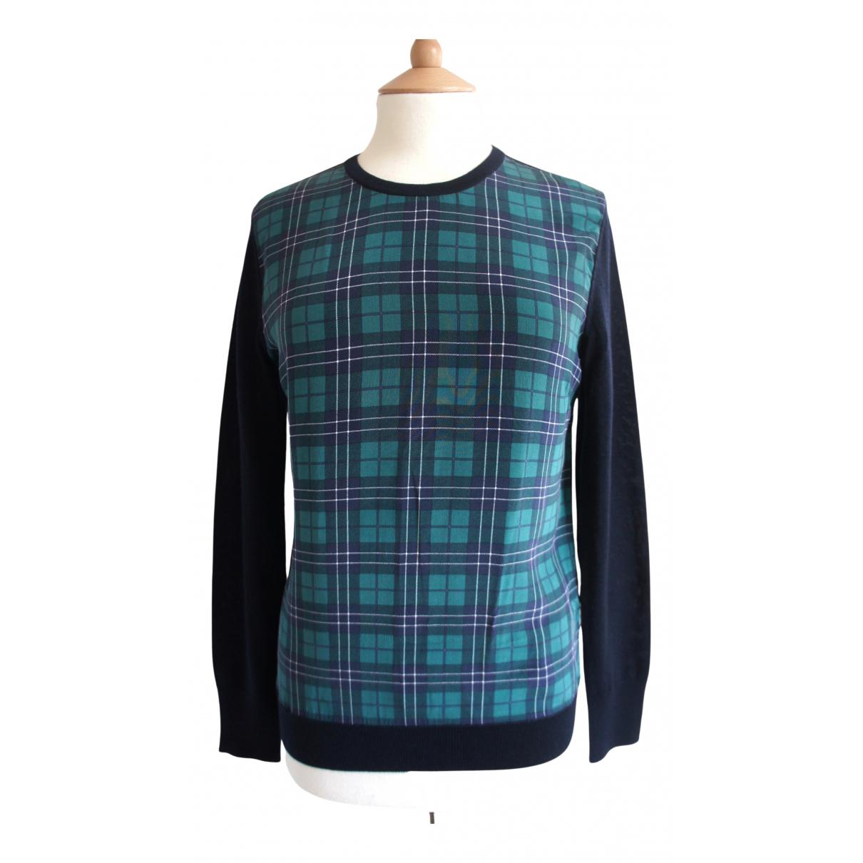 Equipment N Navy Wool Knitwear for Women XS International