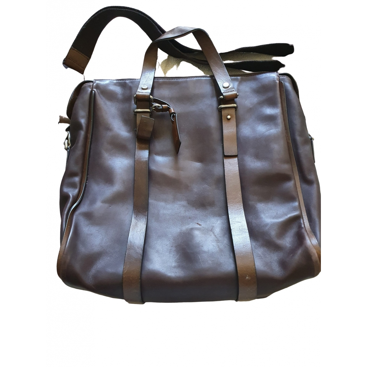 Fratelli Rossetti \N Handtasche in  Braun Leder