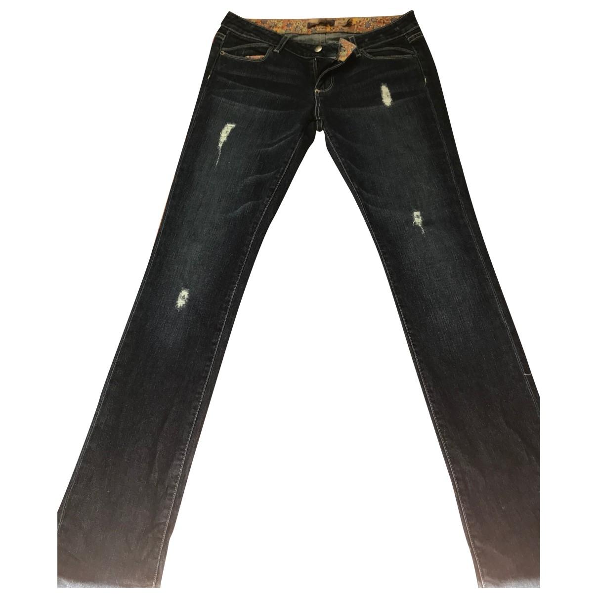 Paige Jeans \N Blue Denim - Jeans Trousers for Women 4 US