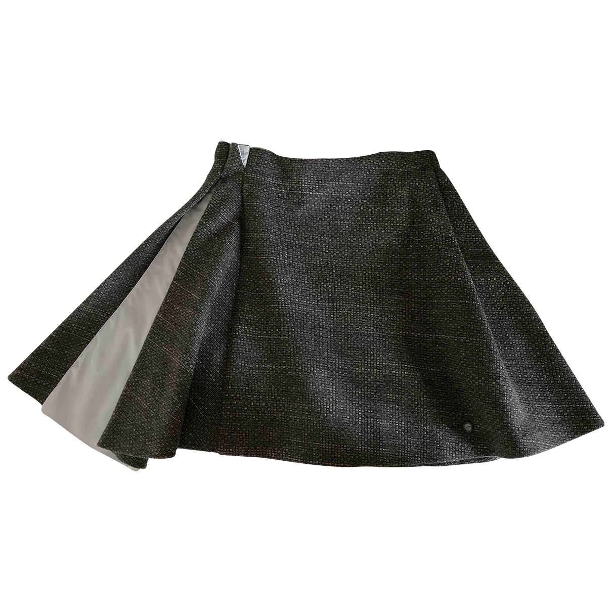 Dior \N Grey Wool skirt for Kids 12 years - XS FR