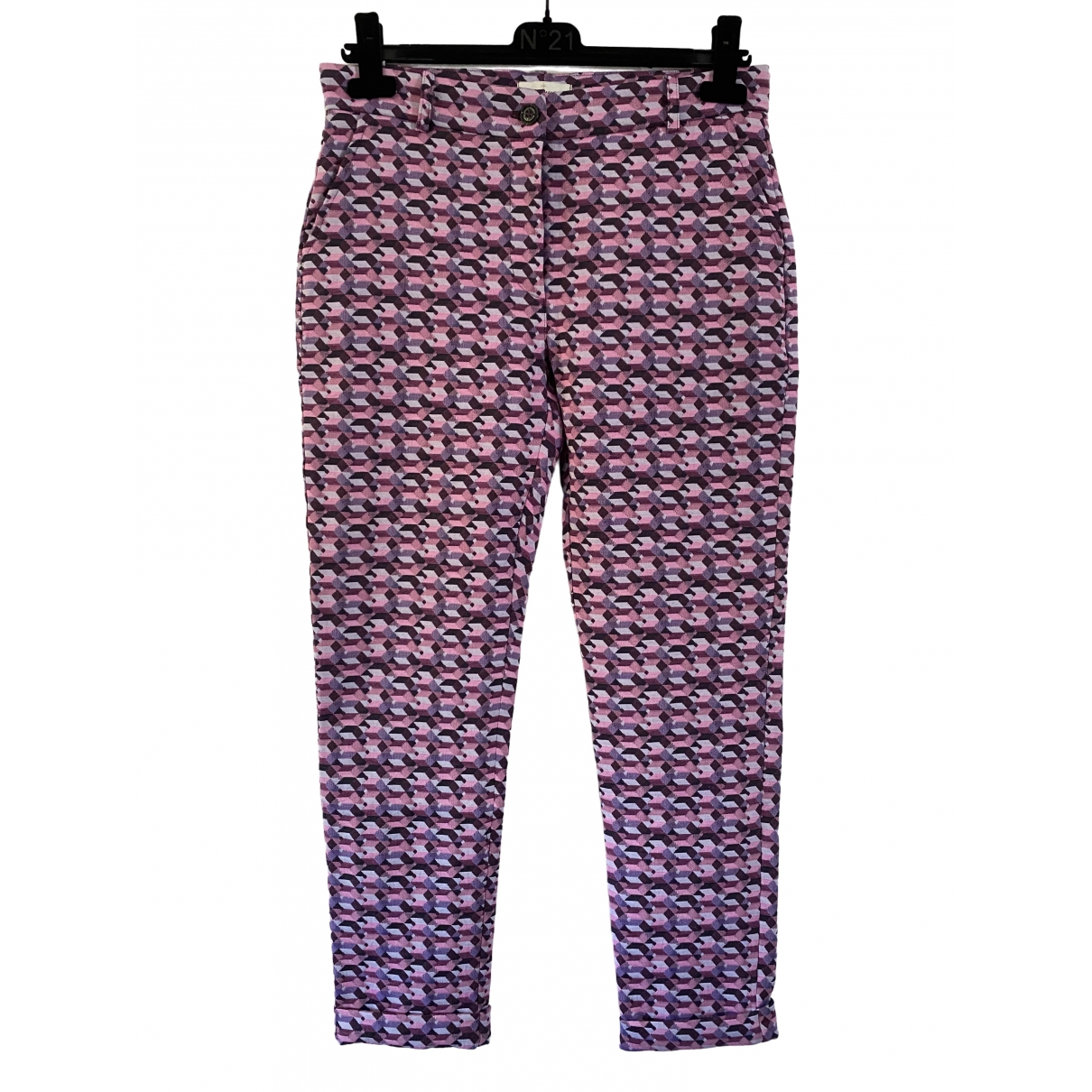 Bruno Manetti \N Multicolour Trousers for Women 42 IT