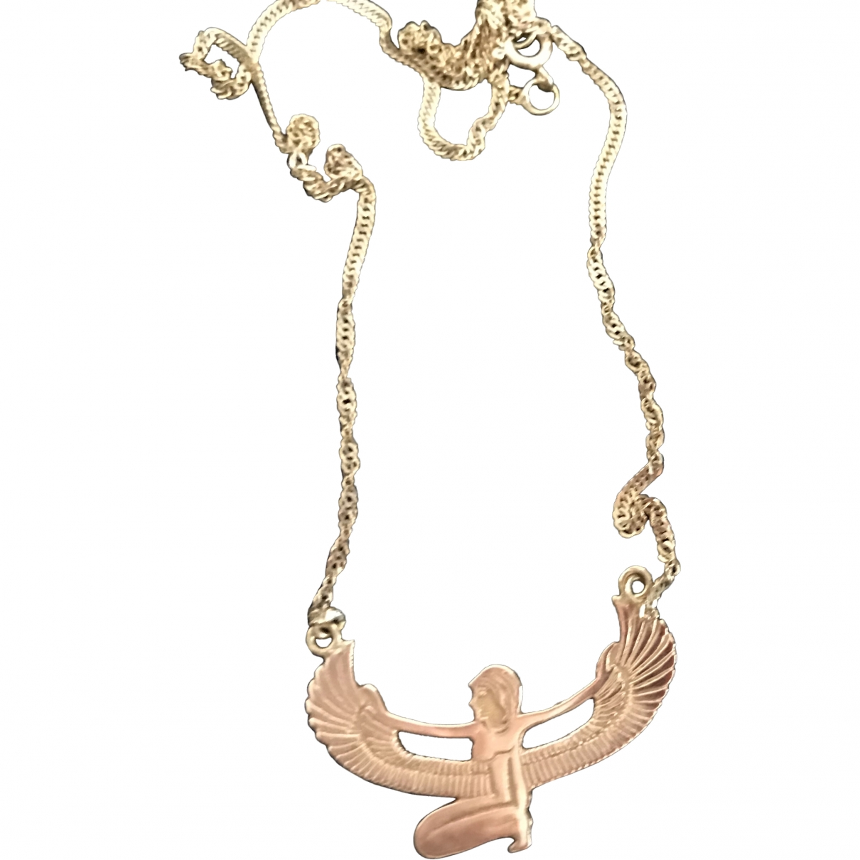 Non Signé / Unsigned Motifs Ethniques Gold Yellow gold necklace for Women \N