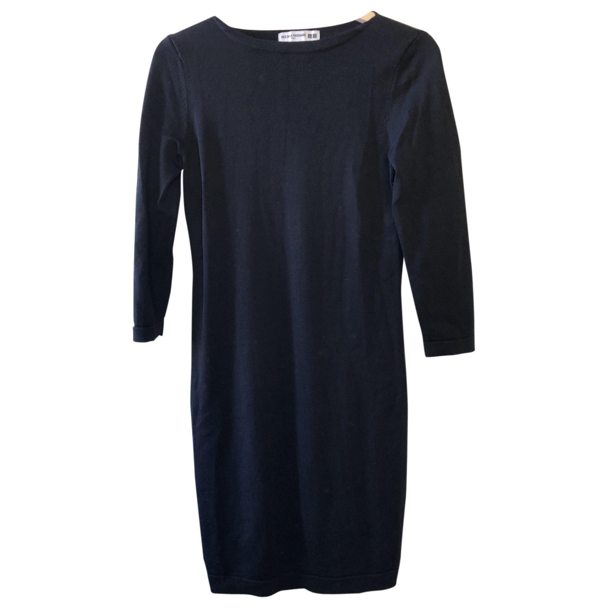 Uniqlo \N Kleid in  Schwarz Baumwolle - Elasthan