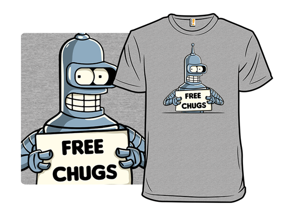 Free Chugs T Shirt