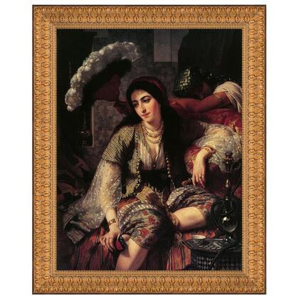 DA4361 15X17 Algerian Woman And Her Slave