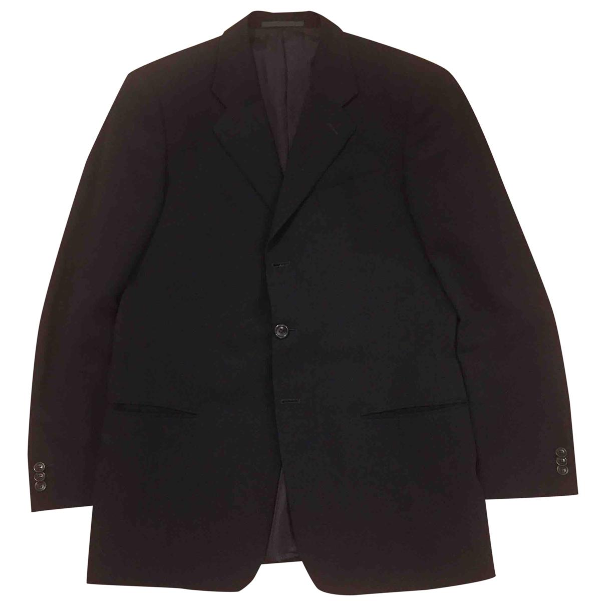Armani Collezioni \N Black jacket  for Men 50 IT