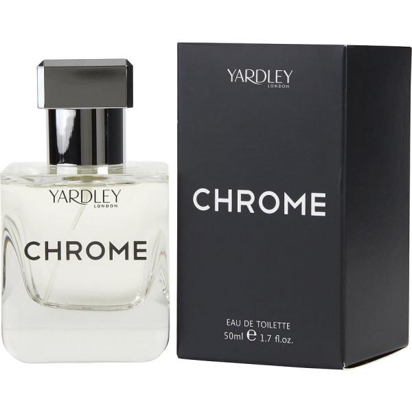 Chrome - Yardley London Eau de toilette en espray 50 ml