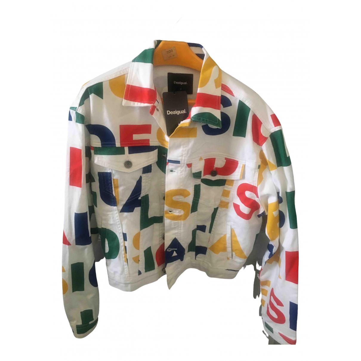 Desigual - Veste   pour femme en denim - multicolore