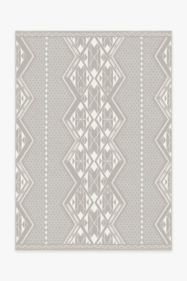 Washable Rug Cover | Halona Stone Rug | Stain-Resistant | Ruggable | 5x7
