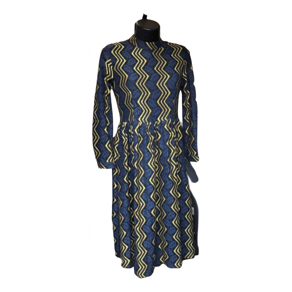 Non Signe / Unsigned \N Kleid in  Bunt Synthetik