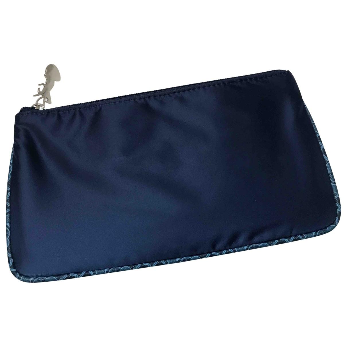 Celine - Petite maroquinerie   pour femme en toile - bleu