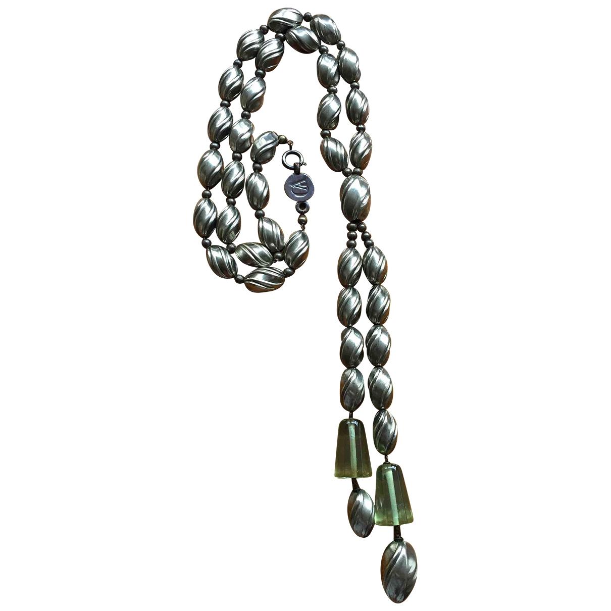 Giorgio Armani \N Kette in  Silber Metall