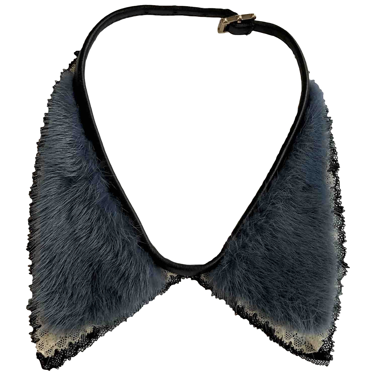 Valentino Garavani \N Blue Mink scarf for Women \N