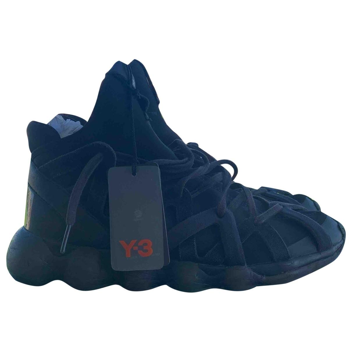Y-3 By Yohji Yamamoto N Black Trainers for Men 8 US