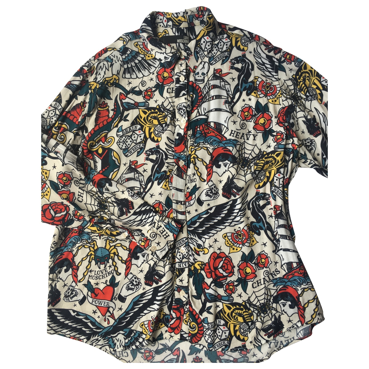 Moschino Love \N Top in  Bunt Polyester