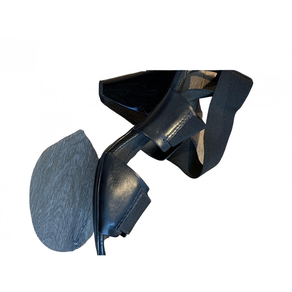 Bcbg Max Azria \N Black Patent leather Heels for Women 39 EU